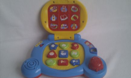 Adorable My 1st Vtech Baby Musical & Light up Educational Laptop